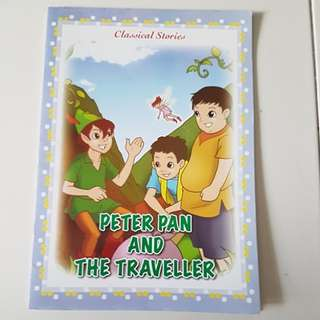 Peter Pan and the traveller story book