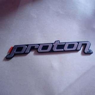 Proton Embem Metal Logo