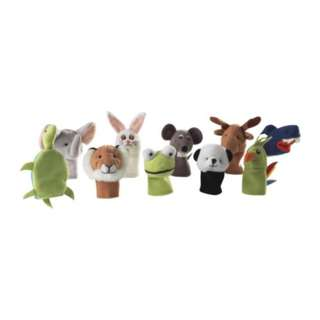 [IKEA] TITTA DJUR Finger puppet / Assorted Colours 10pieces