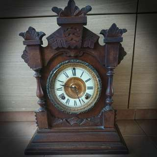Antique porcelain dial Ansonia clock $360 offer