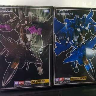 Transformers Masterpiece 6 and 7