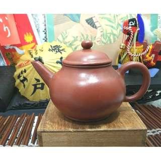阿公留下來的底款陽羨惜陰室王把手寅春落款茶壺泡茶紫砂壺單孔