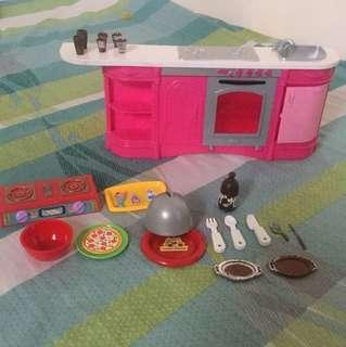 barbie kitchen accessories