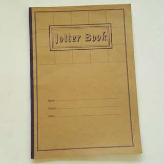 3101 NEW Jotter Book Big Square