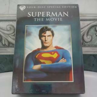 Brand new sealed DVD Box Superman The Movie
