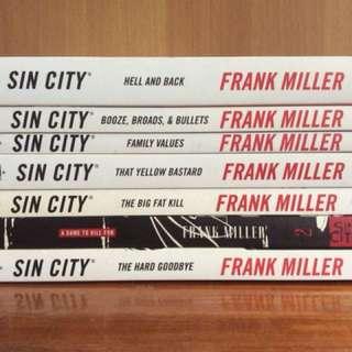 Sin City Complete Set