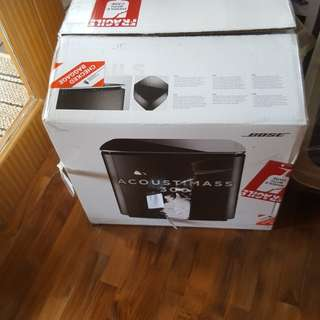 Bose Soundtouch Accoustimass subwoofer box