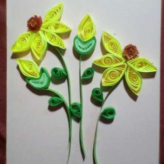 Greeting Cards (Quilling Design)-- Great for Valentine's Day