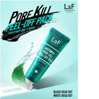 [LaF] Complex teatree + BHA PORE KILL PEEL OFF PACK