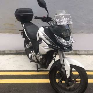 Used Honda CB190X FightHawk For Sale!! COE Expiry Date: 20 July 2027