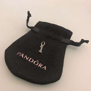 Pandora number One Pendent charm