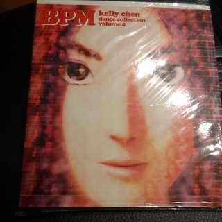 CD. Kelly Chen 陳慧琳 BPM Dance Remix Collection Volume 4 (Mandarin)