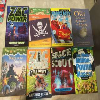 Chapter books for 6-8yrs old ($2 each) min 5 titles