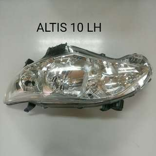 TOYOTA ALTIS 10 HEADLAMP LH GENUINE PART