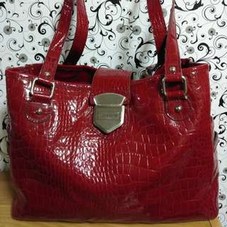 Liz Claiborne Sexy Red Bag