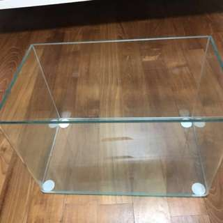 Fish Tank Curved Glass 1ft