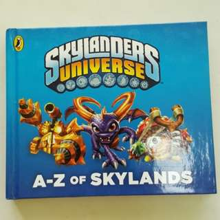 3101 NEW Skylanders Universe A-Z of Skylands