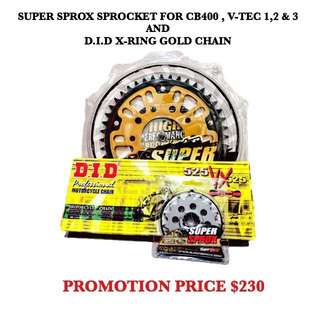 Supersprox and DID gold chain Promotion!!!!!!
