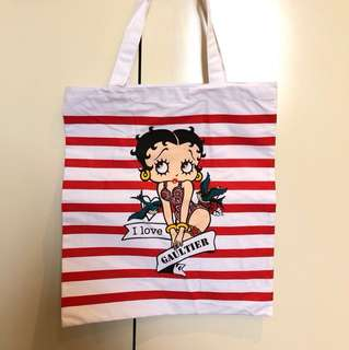 Jean Paul Gaultier tote bag