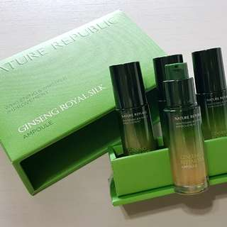 Nature Republic Ginseng Royal Silk Ampoule