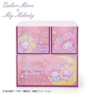 Japan Sanrio Sailor Moon x My Melody Chest