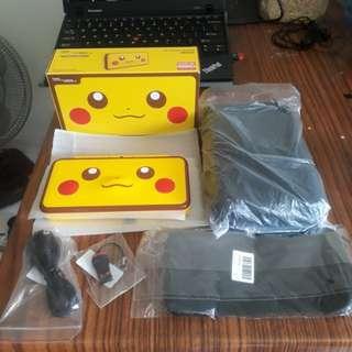 BNIB 64GB B9S Modded new 2ds xl Pikachu Edition