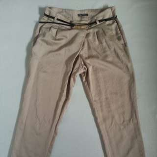 Khaki golden trouser
