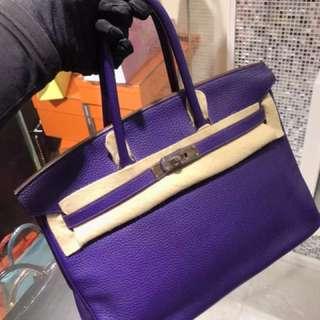 Hermes Birkin 35 🔮紫色