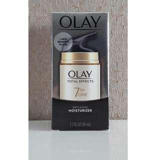 BNIB Olay Total Effects 7 In One Anti Aging Moisturizer 50ml