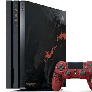 PlayStation®4 Pro MONSTER HUNTER: WORLD RATHALOS EDITION