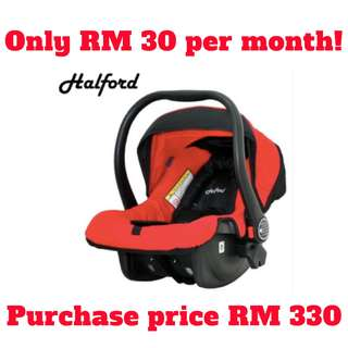 Halford Elite Classic Car Seat Carrier