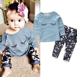 PRE -ORDER: Cute Newborn Infant Baby Girls set