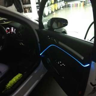 Car Multi-color interior lighting - Fiber Optics - Car lighting- Atmosphere light