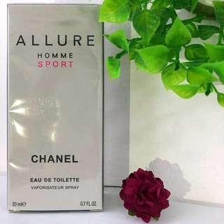 Perfume 20ml   ALLURE HOMME SPORT