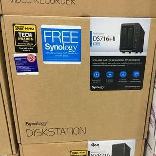 Synology DS716+II DiskStation 2-Bay NAS Enclosure