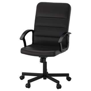 IKEA Office Chair - black and comfortable