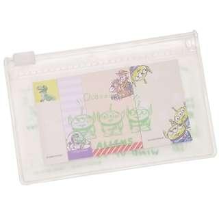 日本直送 Toy Story 反斗奇兵三眼仔 Sticky Memo 便條紙 / 便利貼連 Zip Case