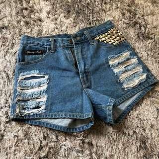 preloved unbranded short jeans