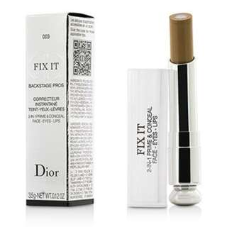 DIOR FIX IT 2-IN-1 PRIME & CONCEAL FACE - EYES – LIPS 二合一遮瑕筆 (003 Dark)