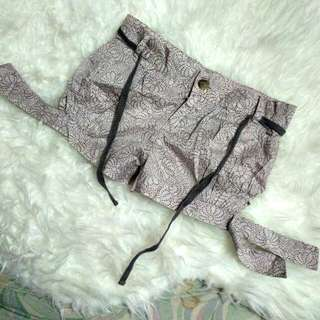 Gingersnap Cotton Shorts