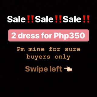 2 Dress for Php350