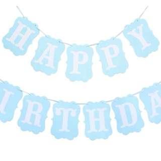 Birthday Buntings