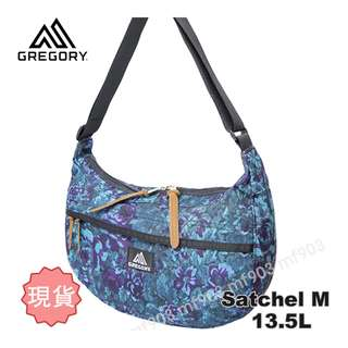 行貨 Gregory Satchel M 13L Blue Tapestry Bag 藍花 Arro 22 斜揹袋 NMD 經典 Supreme 旅行袋