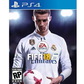 PS4 FIFA18 [Region 3 ASIA English]  (Promotion Price May End Soon)