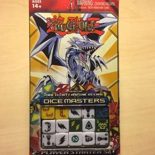Yugioh Dice Masters 2-player Starter Set & Playmat