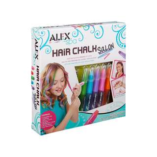 ALEX Spa Hair Chalk Salon Washable Temporary Color