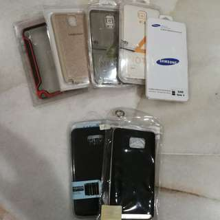 Sell all together. Samsung Note 4, Note 5 casing.. RM20 nett