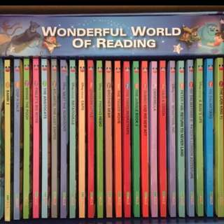 Disney English story books +28CD 迪士尼英文圖書28本+28隻CD