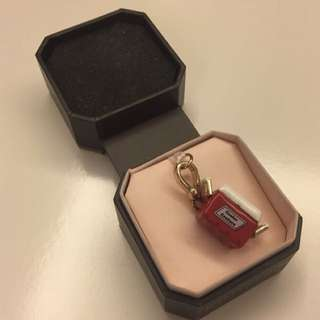 🍡Juicy Couture red Pendant From USA