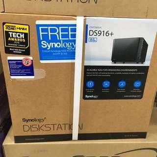 Synology DiskStation DS916+ 8GB RAM 4-Bay NAS Enclosure